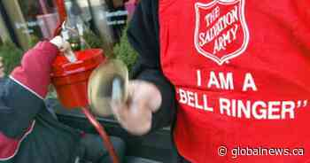 London's Salvation Army appeals for Christmas Kettle Campaign volunteers