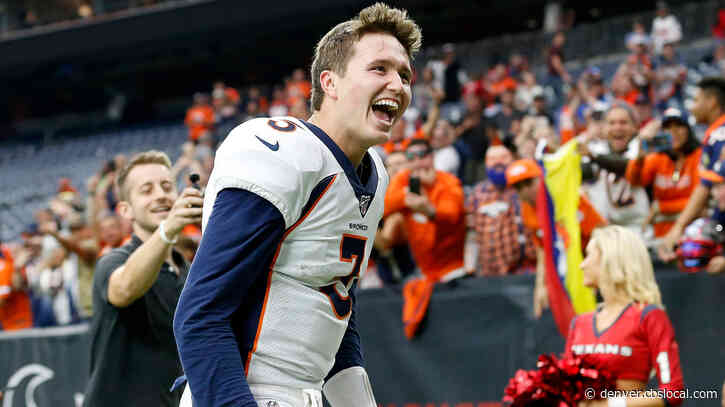 Broncos Rookie Drew Lock Is Already Making NFL History