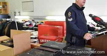 Vancouver police shut down black market operation selling stolen clothes, booze (PHOTOS)