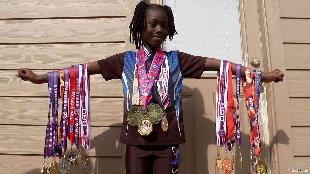 Londyn Davis named the fastest 6-year-old in Texas
