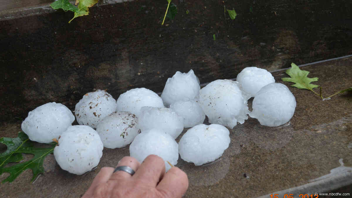 Could Climate Change Lead to More Extreme Hailstorms in Dallas-Fort Worth?