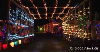 Athens Christmas display containing hundreds of thousands of lights raises money for charity