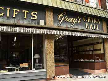 Gray's China Hall goes online to clear out inventory