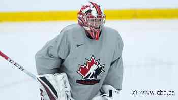 Undrafted Nico Daws trying to force way into Canada's world junior crease