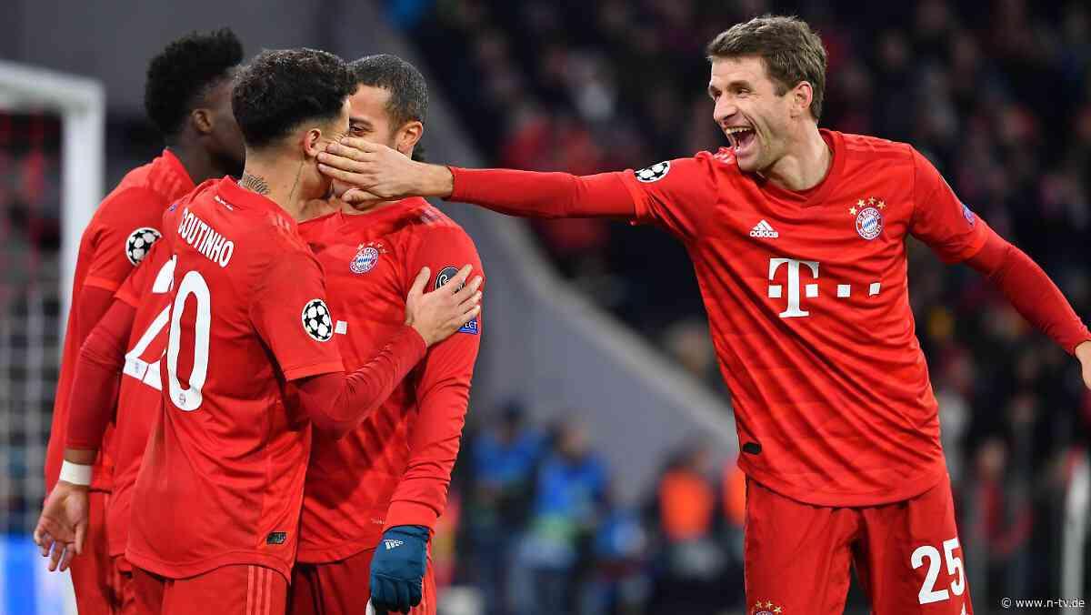 Punkterekord in der Königklasse: FC Bayern schlägt auch Tottenham