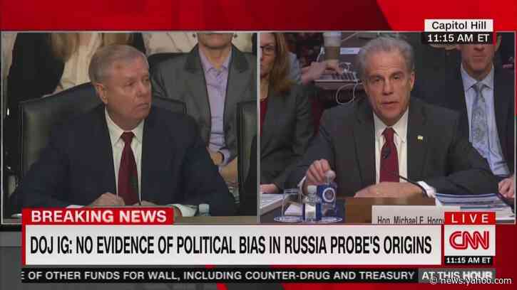DOJ Inspector General Michael Horowitz: My Report Doesn't 'Vindicate Anybody'