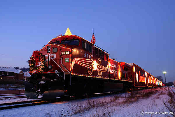 Holiday Train arrives today and tonight in region
