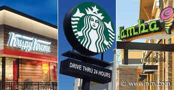 Starbucks, Dunkin', Krispy Kreme top the sales list among beverage-snack chains