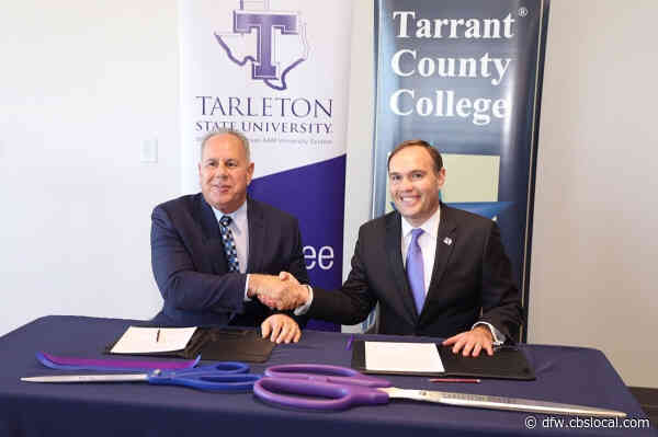 Tarleton State University And Tarrant County College Partner In Downtown Fort Worth Space