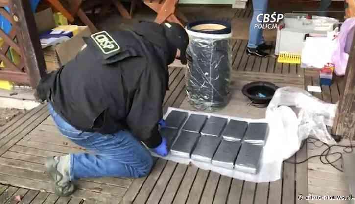 VIDEO: 'Grootste partij cocaïne in 30 jaar' onderschept in Polen