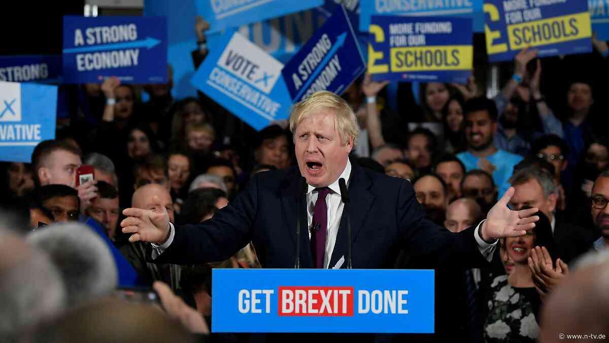 Quoten sprechen für Tory-Partei: Buchmacher sehen Boris Johnson vorn