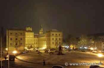 Coburg erlebt den ersten Schnee des Winters