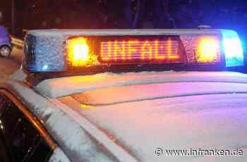 Coburg: Unfall auf schneeglatter Straße