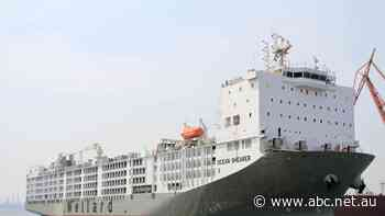 World's largest live export ship to sell for $77m