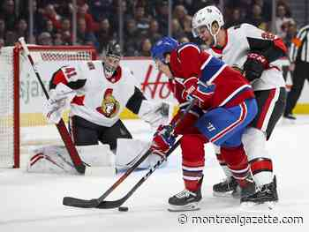 Liveblog: Cousins puts Habs up 1-0 on Senators