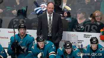 Sharks fire head coach Peter DeBoer after slow start to season: reports