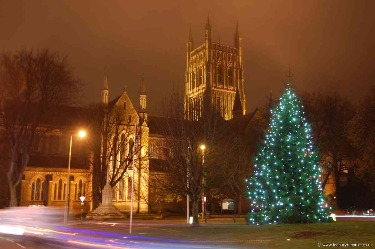 Worcestershire - a special place at Christmas time