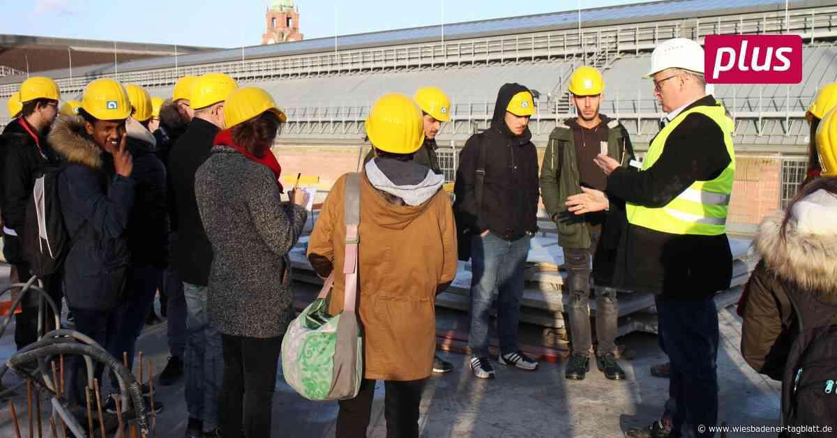 """""""Sei schlau, geh' zum Bau"""": Schüler besuchen Baustelle"""
