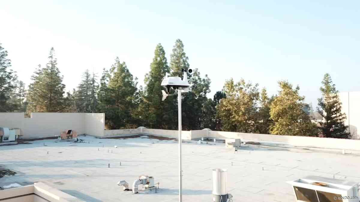 Fresno City College has a new weather station