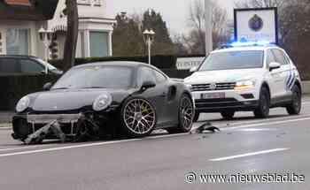 Porsche total loss na botsing