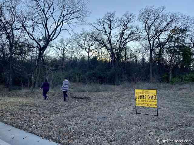 North Texas Community Fighting To Keep Old Trees, Prevent Construction Of 95 Townhomes