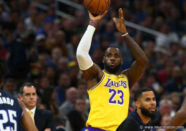 LeBron James' Triple-Double Leads Lakers Past Magic To Begin Five-Game Road Trip