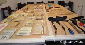 Metro Vancouver police arrest alleged prolific burglar, recover $200K in stolen goods