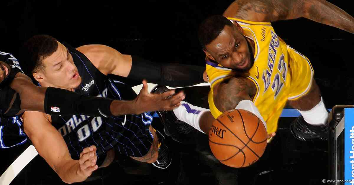 Lakers stop the Magic, extend road streak to a dozen