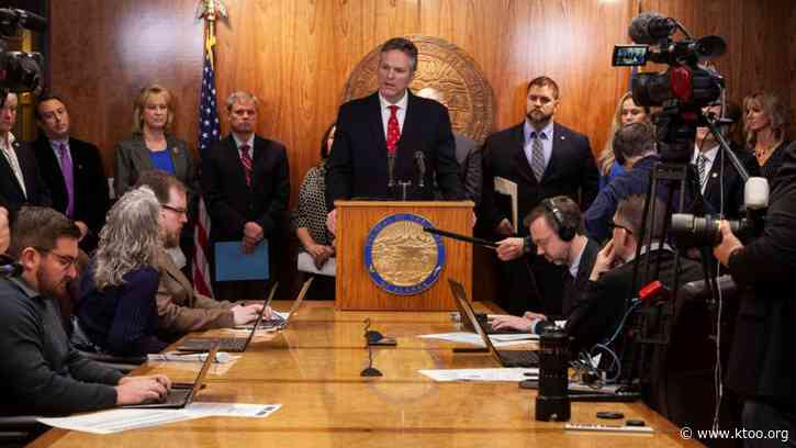 Alaska lawmakers worry Dunleavy's budget relies too heavily on savings