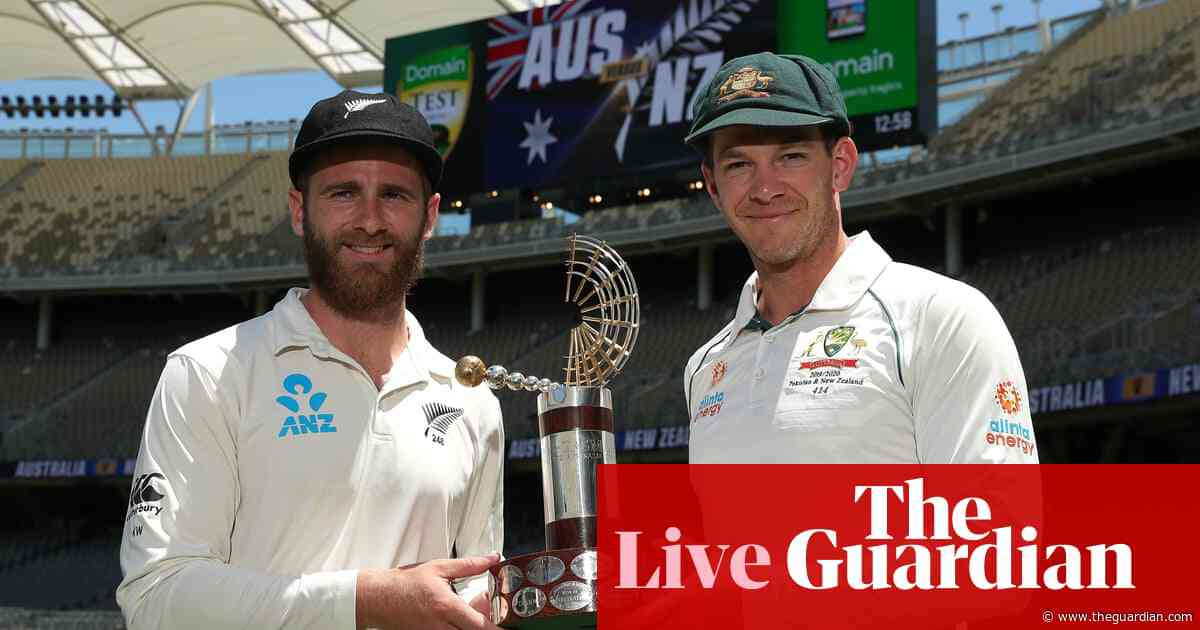 Australia v New Zealand: first Test, day one – live!