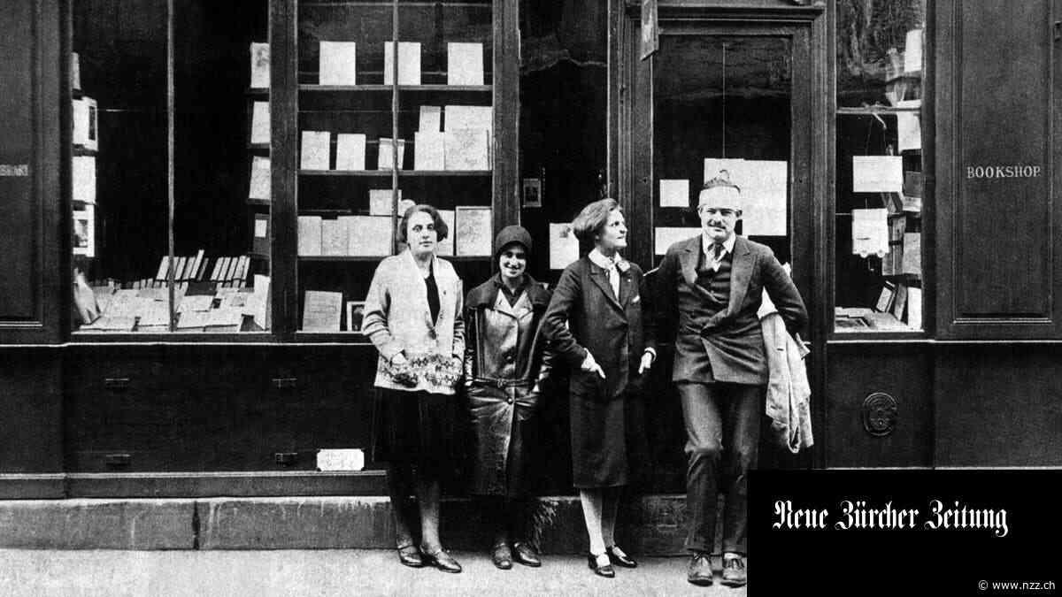Sie schrieb keine Bücher– aber Literaturgeschichte: Sylvia Beach und ihre legendäre Buchhandlung