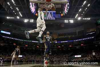 Bucks win 16th straight despite missing Antetokounmpo
