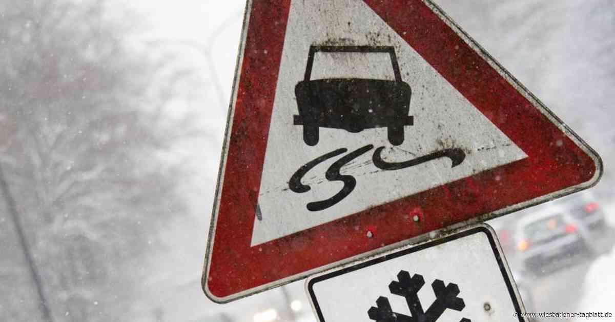 Witterungsbedingte Unfälle in und um Wiesbaden