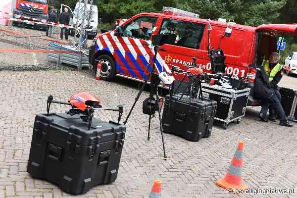 Brandweer wil landelijk drones gaan inzetten