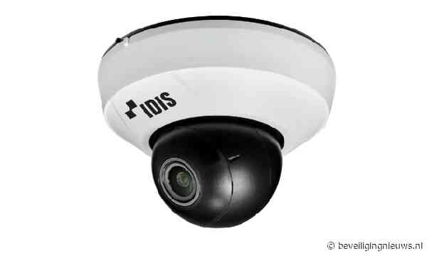 Discrete en krachtige dome-camera van IDIS