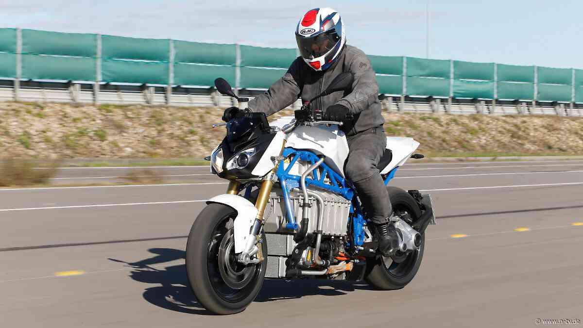 """""""Wir nutzen die Zeit"""": E-Motorrad-Prototyp von BMW"""