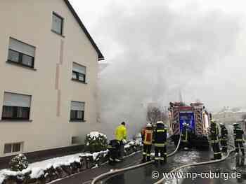 40 Kräfte im Einsatz: Kellerbrand in Kronach