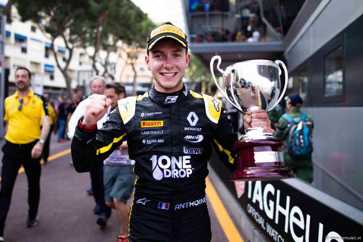 Formule 2 introduceert Anthoine Hubert Award voor beste rookie
