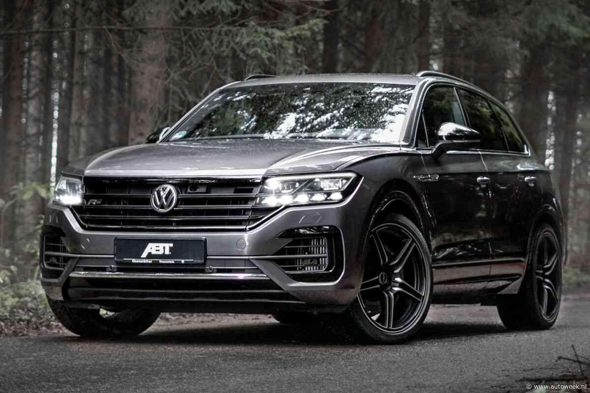 Abt pompt 507 pk in Volkswagen Touareg