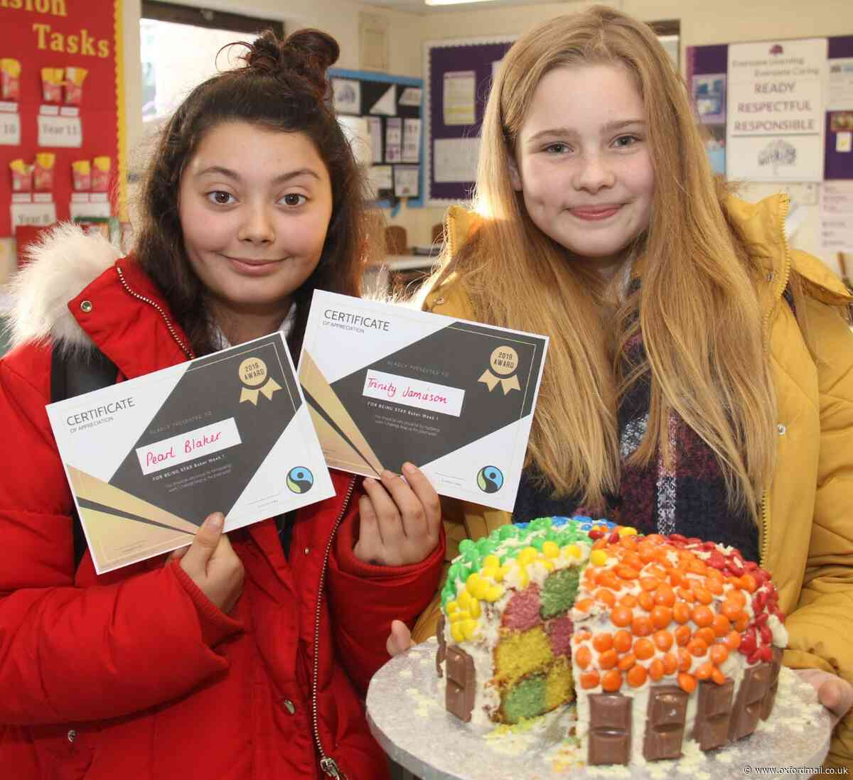 Pupils' 'inspired' idea to promote Fairtrade produce