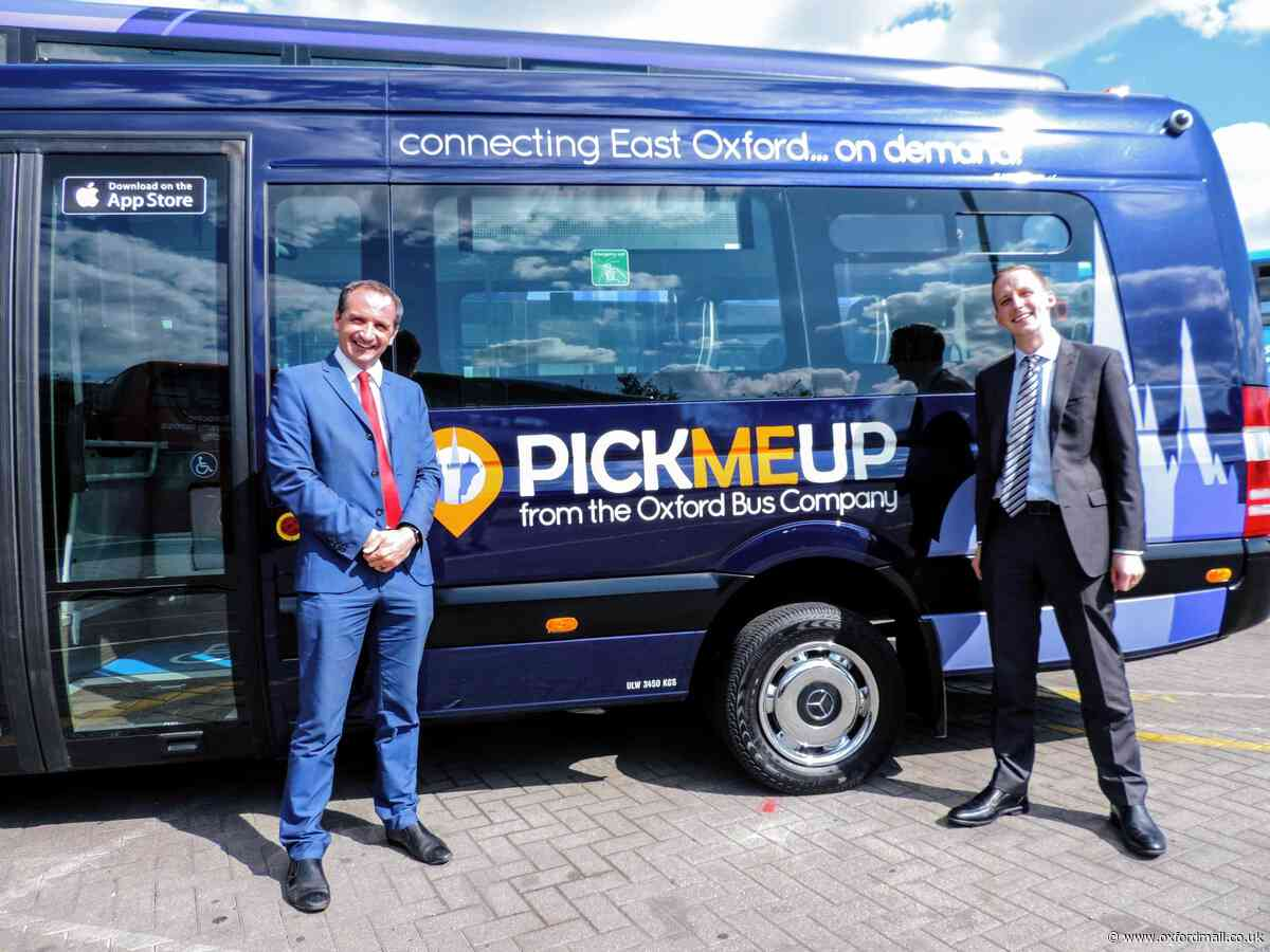 Horspath gets PickMeUp bus in new year