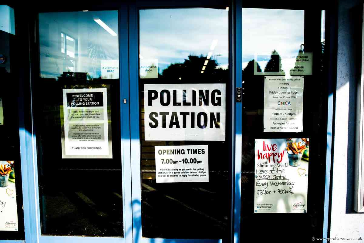 List of polling stations in Colchester