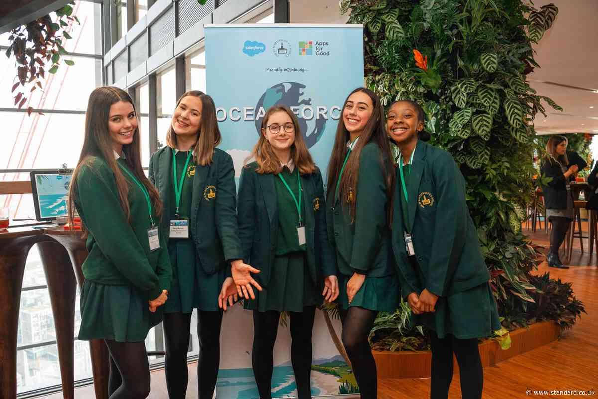 Oceanforce: app designed by London school kids gamifies plastic recycling