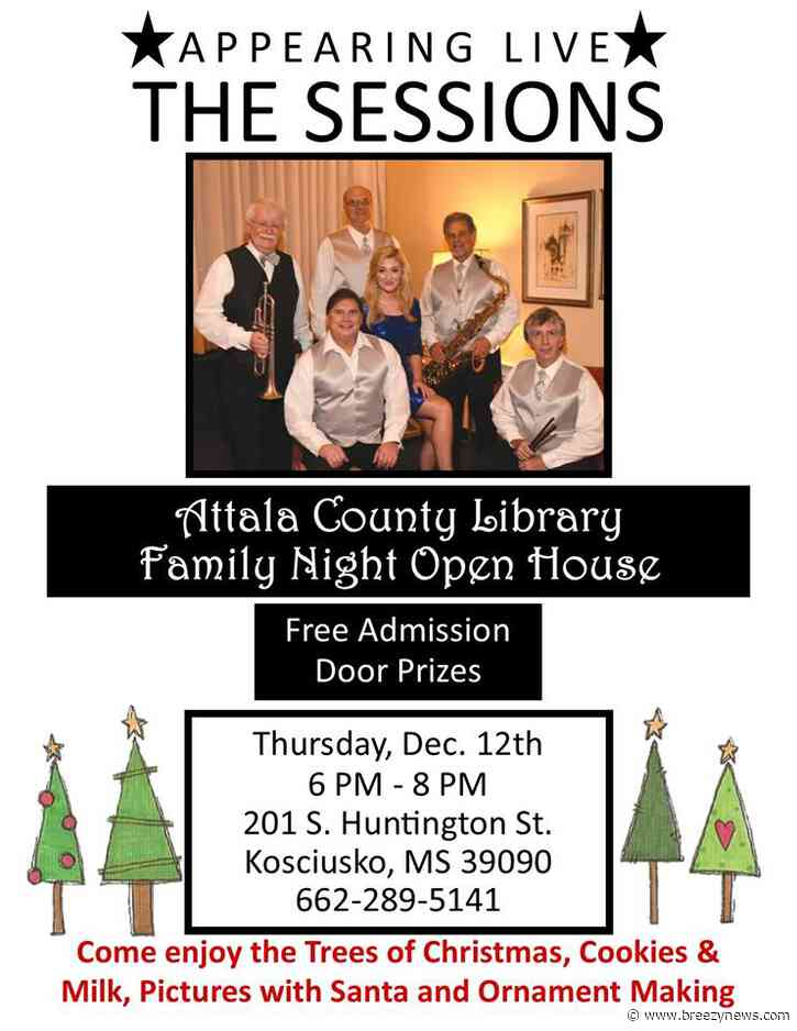 Happening today: Attala County Library Family Night Open House