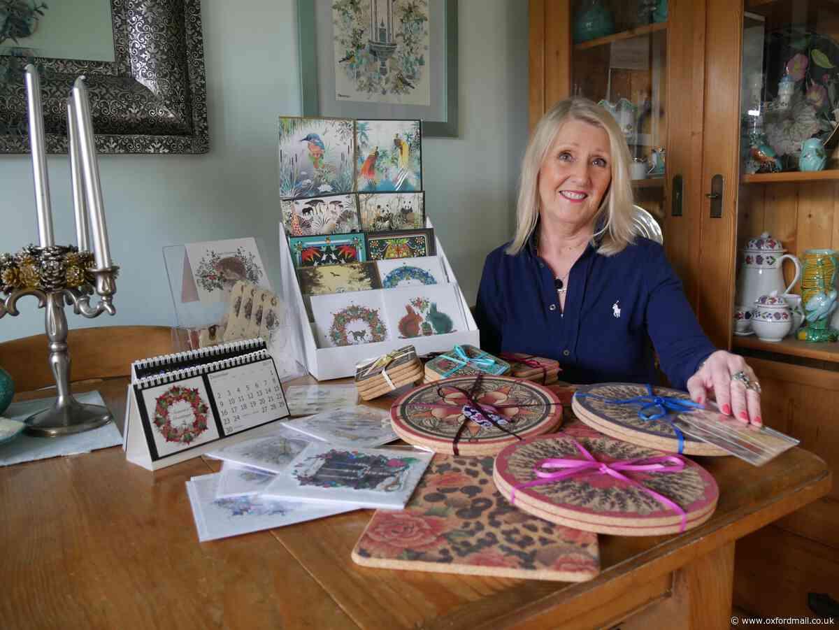 Christmas gift leads to Kidlington greeting cards business