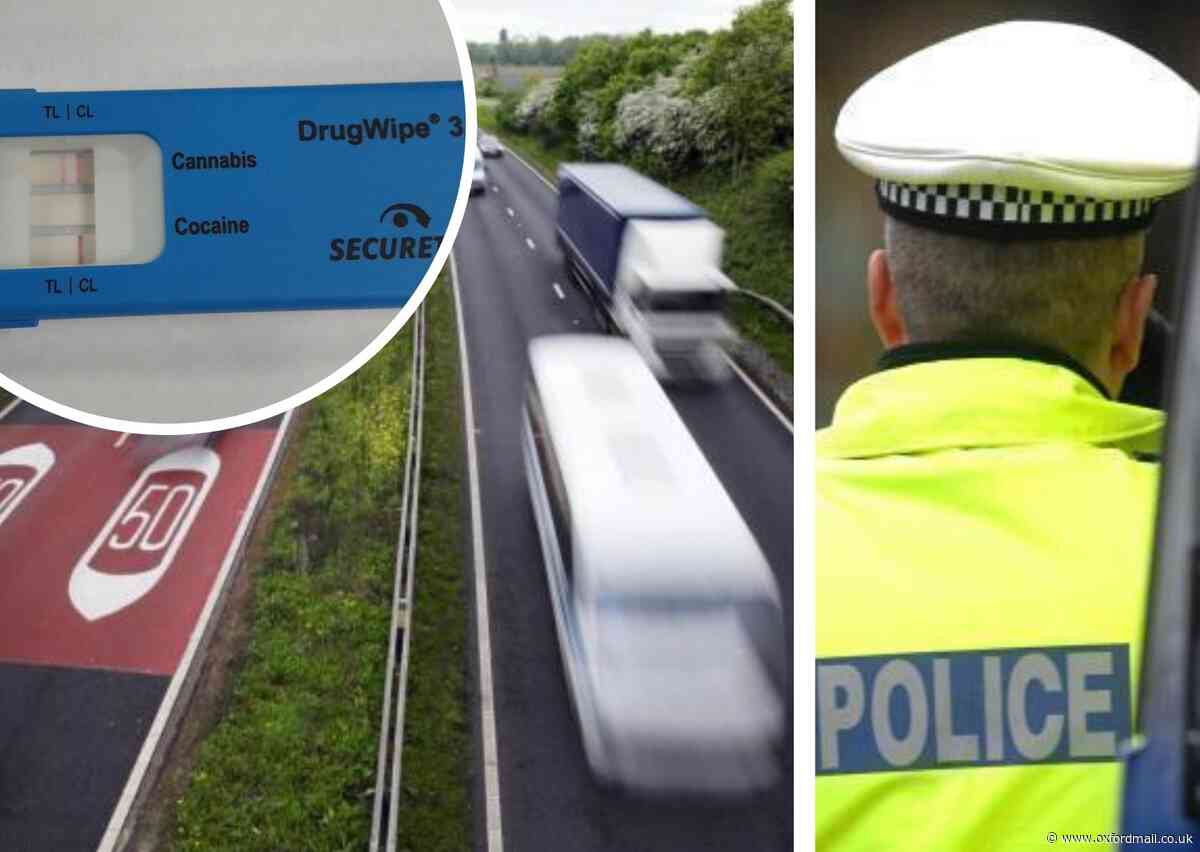 Driver arrested on A34 at Botley after police smell cannabis