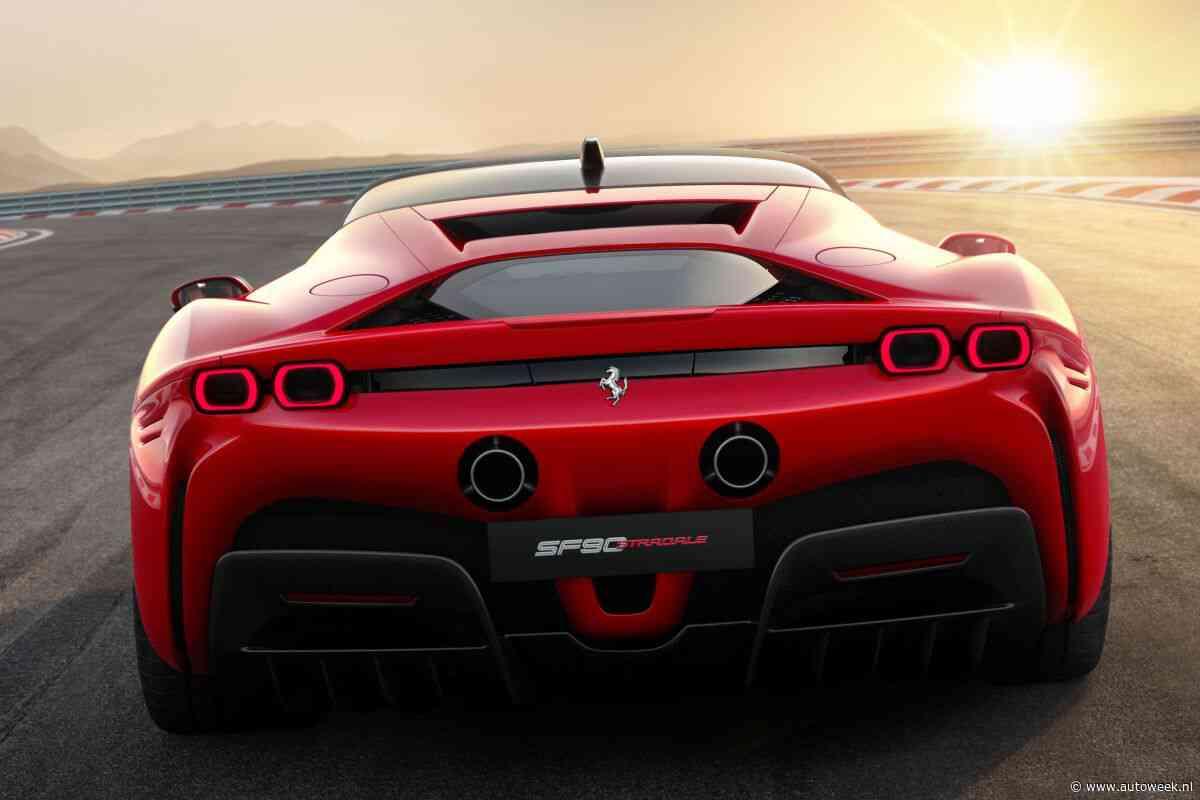 Volledig elektrische Ferrari komt niet voor 2025