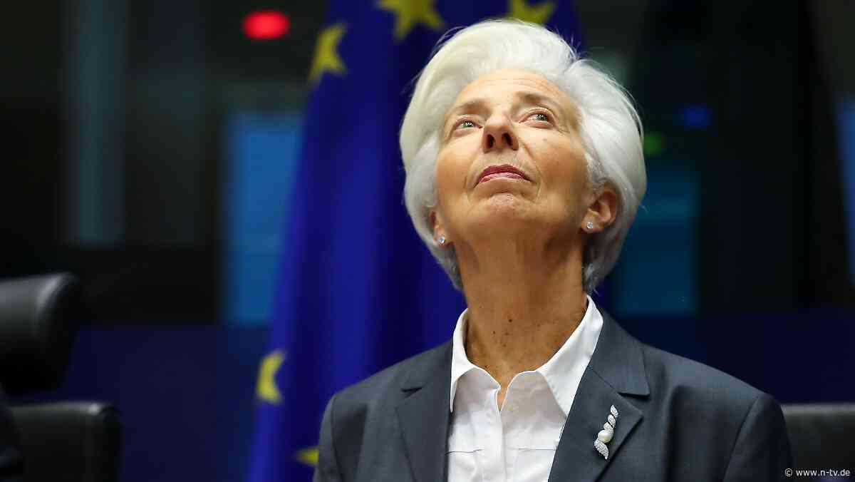 Geldschleusen bleiben offen: EZB hält auch unter Lagarde am Nullzins fest