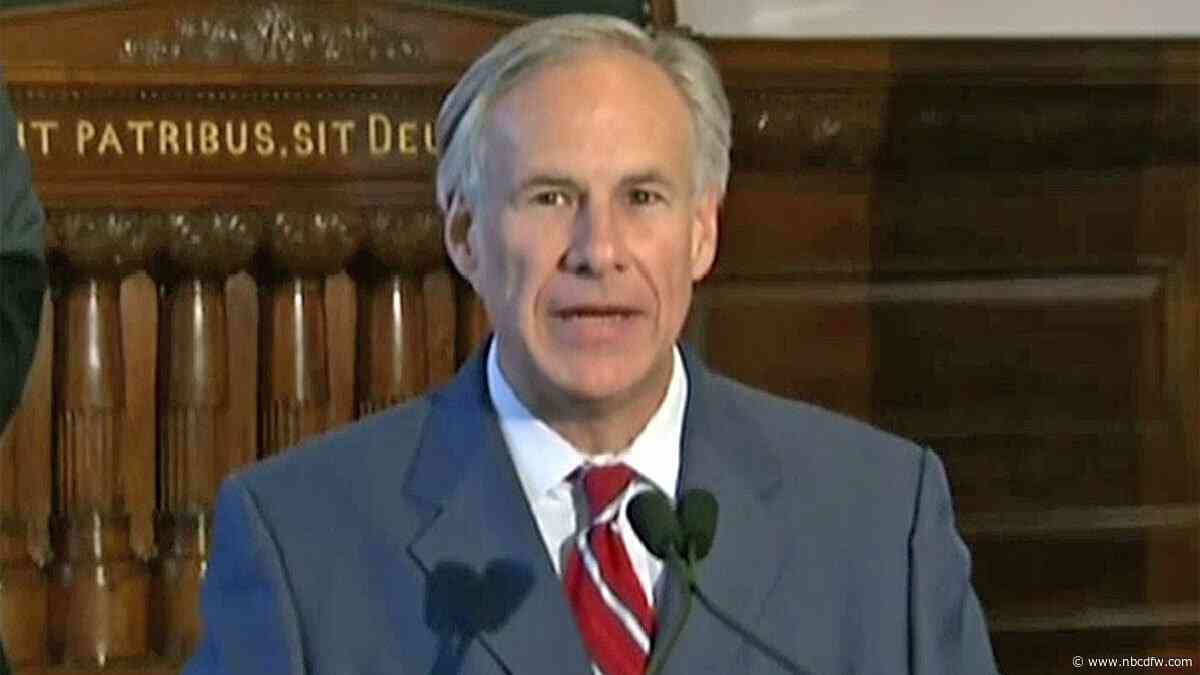 Gov. Abbott to Reflect on 2019 in State of the State Address