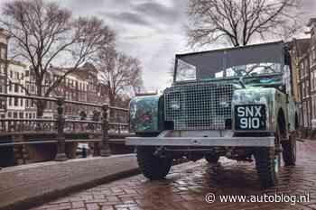 Land Rover na 71 jaar terug in Amsterdam